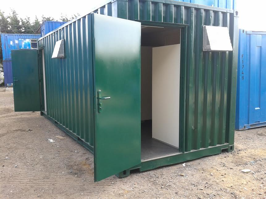 Portable Toilet Unit Sold by Flintham Cabins