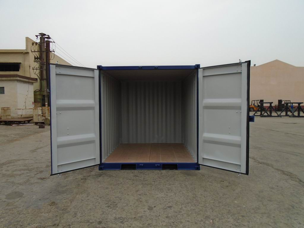 Premium High Capacity Steel Containers