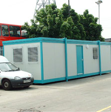 Used portable buildings from Flintham Cabins Ltd