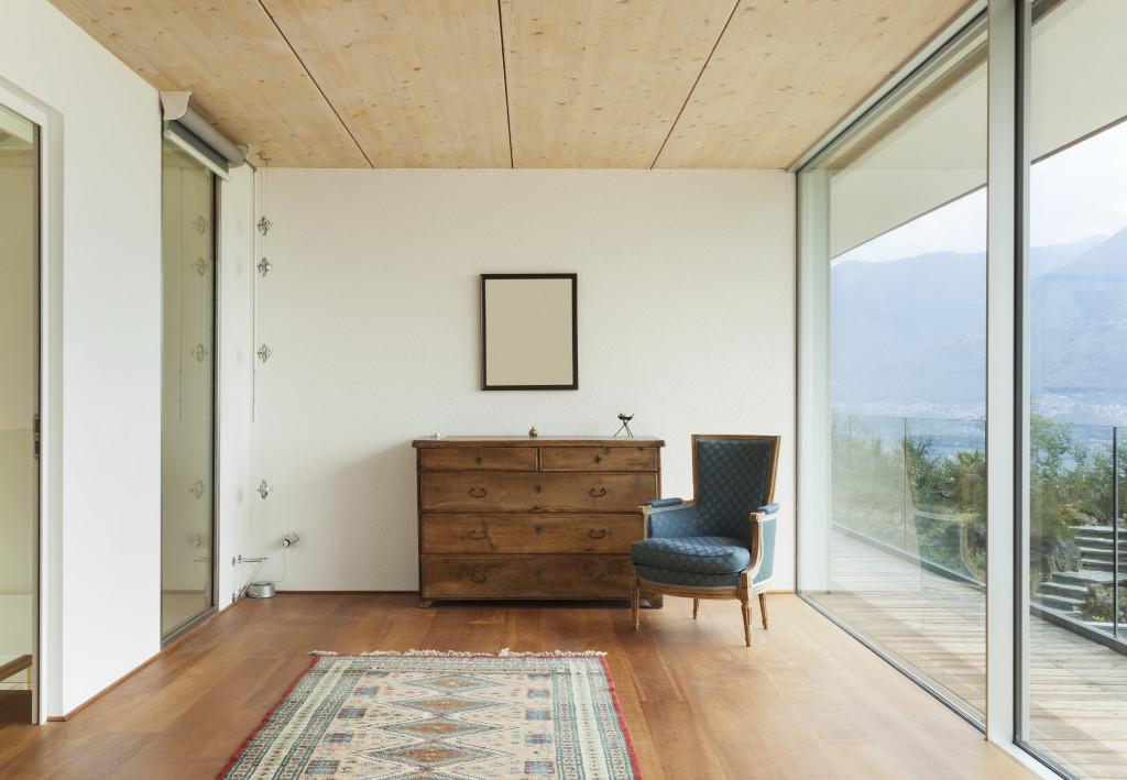 mountain house, interior