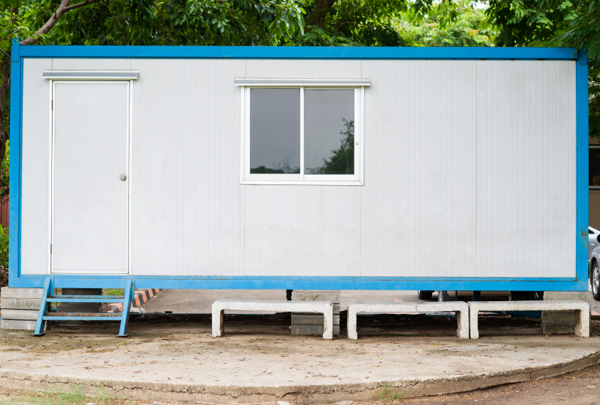 cargo container house iStock_000044440958_Small