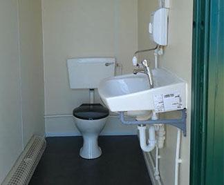 Toilet Unit Interior