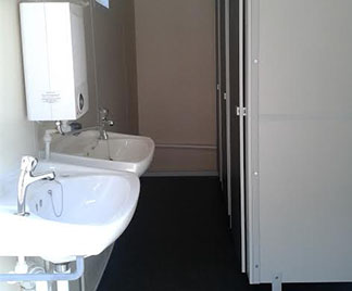 Toilet Conversion Units from Flintham Cabins