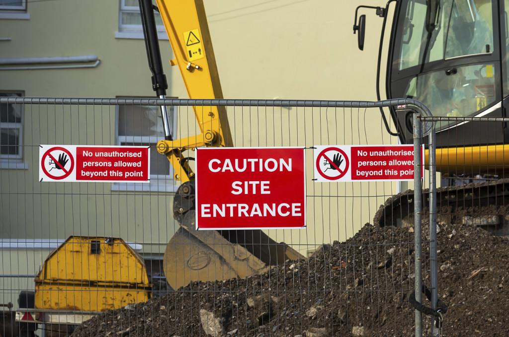 Construction Site Entrance - iStock_000052232216_Medium