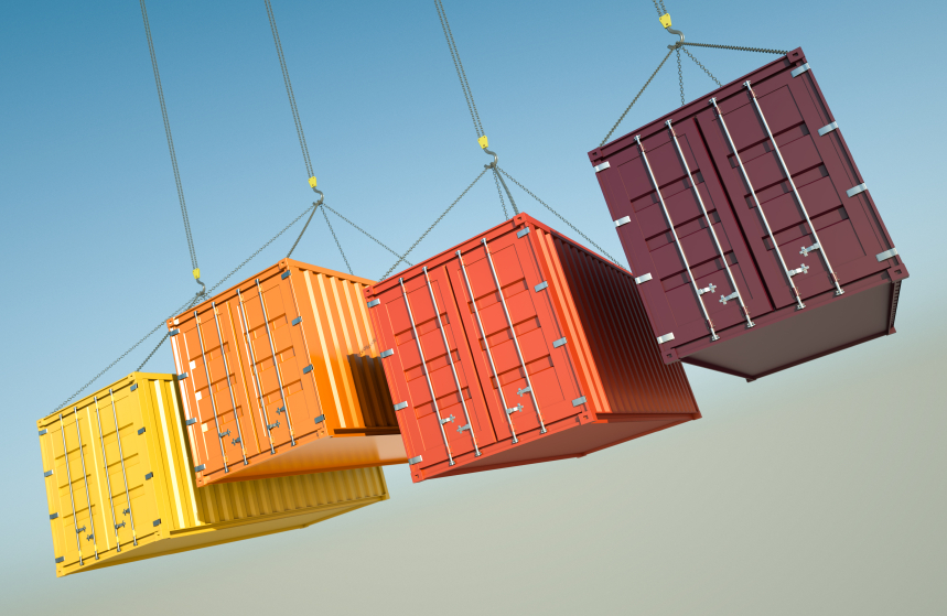 colourful shipping containers iStock_000015541037_Small