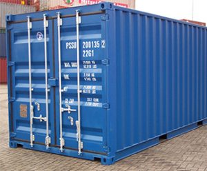 storage containers waiting to be shipped