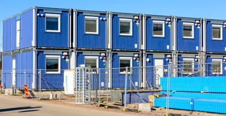 Modular construction continers