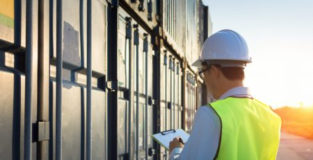 Steel container maintenance